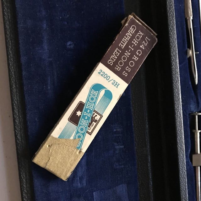 Image of Vintage Set of Drafting Tools