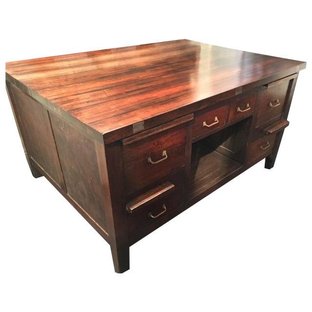 Vintage Desk Style Kitchen Island Chairish