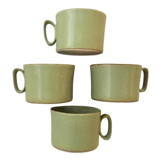 Bennington Pottery Mugs - Set of 4