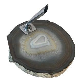 Geode Slice Pen Holder