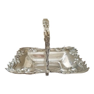 Silverplated Biscuit Basket