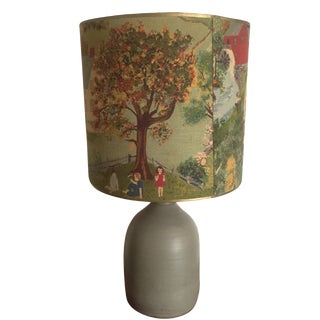 Vintage Farmhouse Painting Lamp
