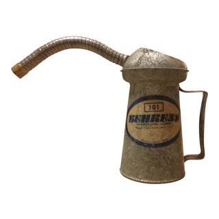 Vintage Steel Oil Can