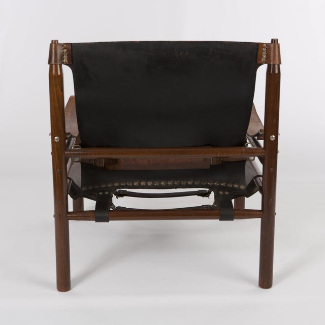 "Vintage Arne Norell ""Safari"" Chair - Image 4 of 5"