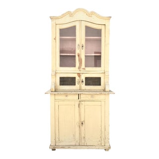 Secretaire With Arched Pediment
