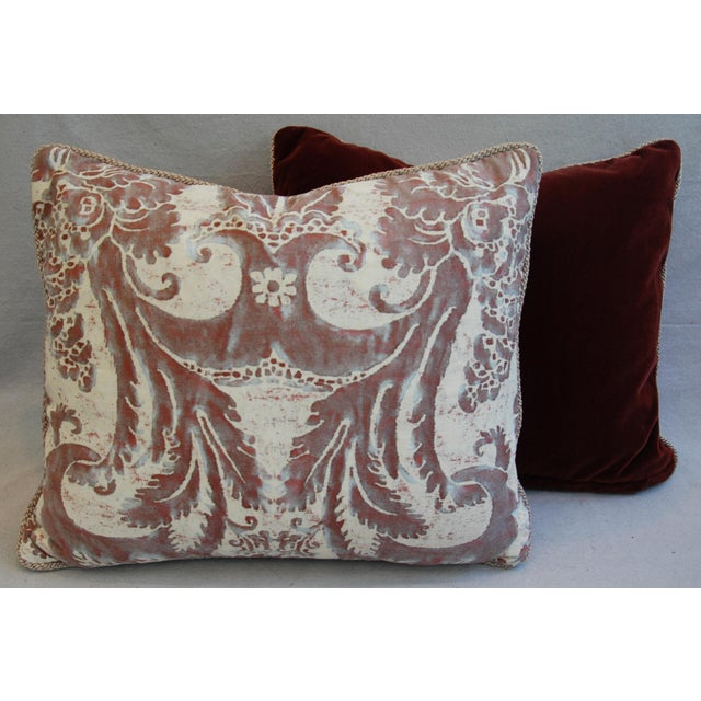 Mariano Fortuny Glicine & Mohair Pillows - A Pair - Image 10 of 10