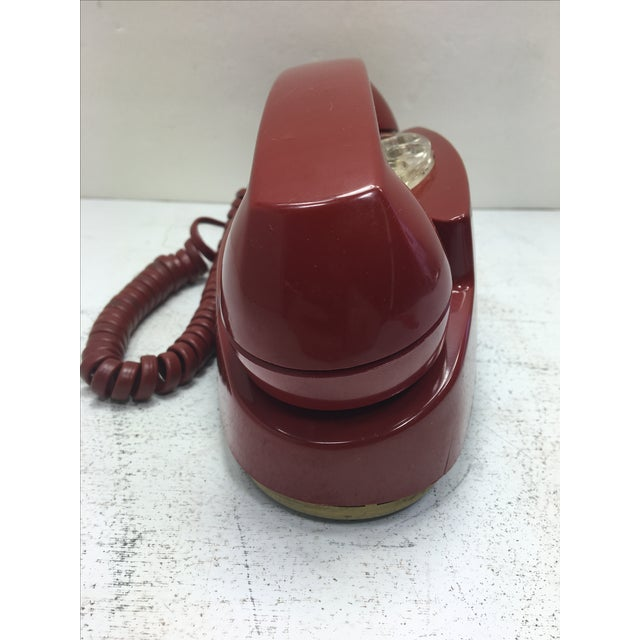 Vintage Red Princess Rotary Dial Telephone - Image 3 of 11