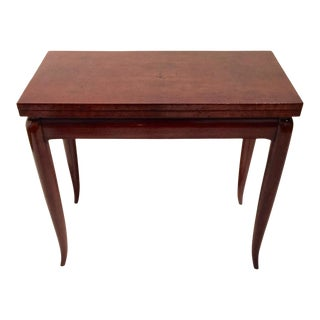 Mercier & Chaleyssin Flip Top Game Table