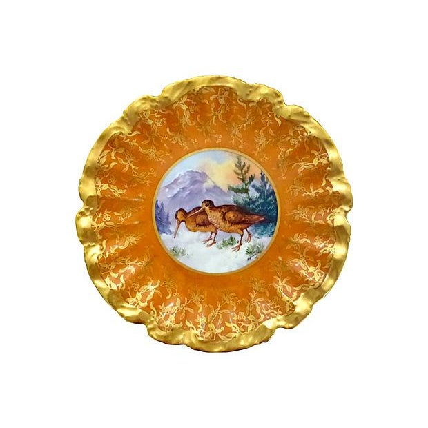 Limoges Hand Painted Gold Decorative Plate - Image 1 of 5