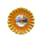 Image of Limoges Hand Painted Gold Decorative Plate