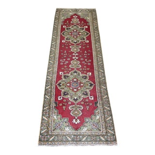 Vintage Turkish Runner Rug - 2′7″ × 7′4″