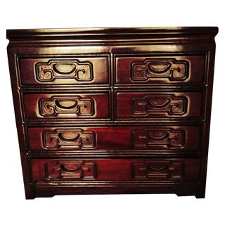 Asian Rosewood Jewelry Box