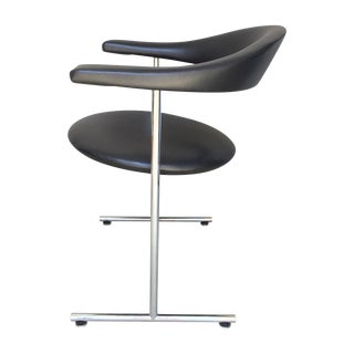 Poul Kjaerholm Style Arm Chair