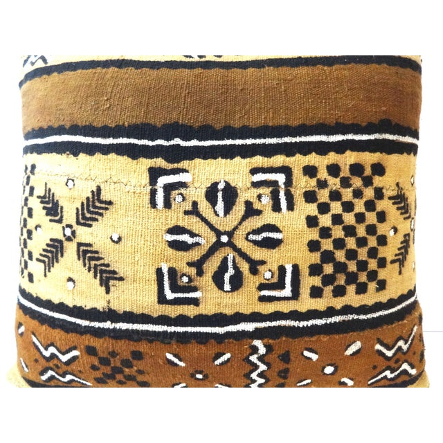 African Mud Cloth Pillow - Image 2 of 8