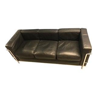 Le Corbusier Petit Confort Three Seater Sofa