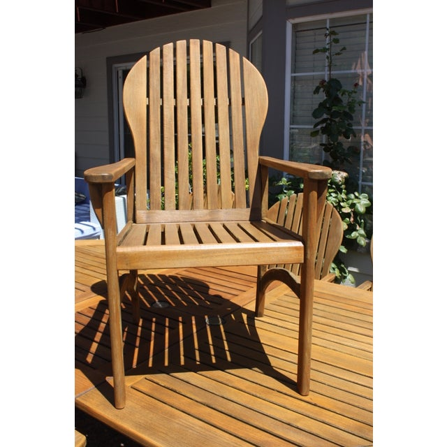 Kingsley Bate Teak Patio Set | Chairish