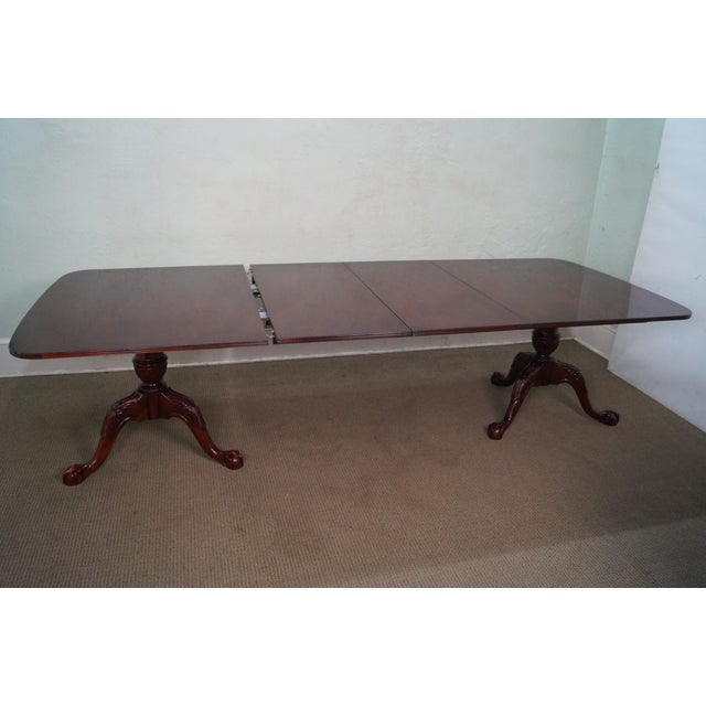 Wellington Hall Duncan Phyfe-Style Dining Table - Image 8 of 10