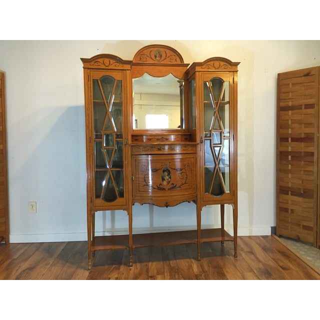 Antique European Display Hutch - Image 2 of 11