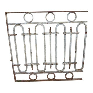 Antique Victorian Salvage Fence
