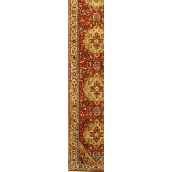 """Pasargad Hand-Knotted Serapi Rug - 2' 5"""" X 11' 10"""" - Image 2 of 2"""