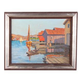 Gunnar Zetterstrom Oil Painting