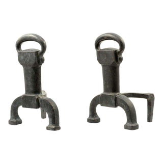 Pair of Cahill Andirons