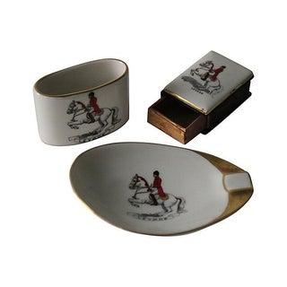 Lipizzaner Horse Smoking Set - S/3