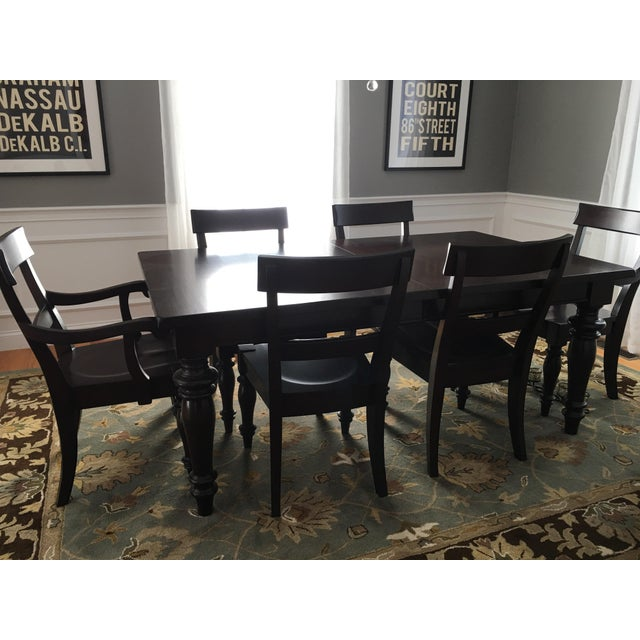 Pottery Barn Dining Sets: Pottery Barn Montego Dining Set