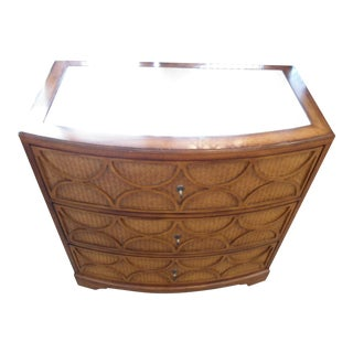 Rattan Front Lane Chest of Drawers