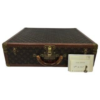 Vintage Louis Vuitton Braken Garment Trunk w/ Keys