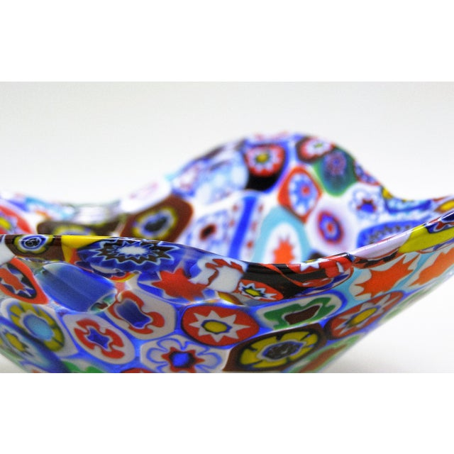 Fratelli Toso Millefiore Mosaic Murano Glass Bowl - Image 8 of 10