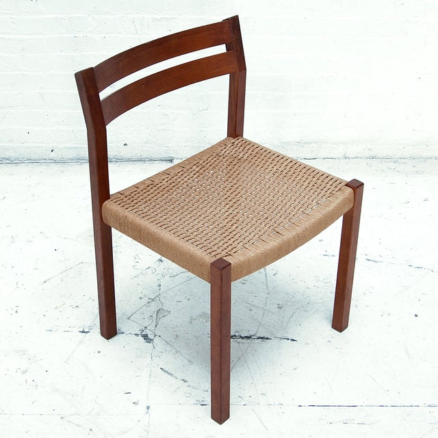 Danish Mid Century Moller Chair Chairish