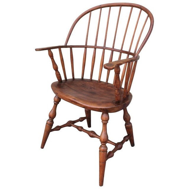 18th Century Sack Back Extended Arm Windsor Chair - Image 2 of 9