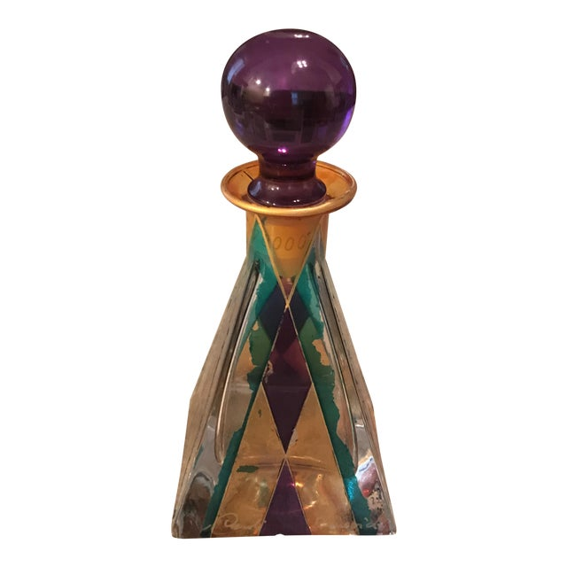 Hand Painted Perfume Bottle - Image 1 of 11