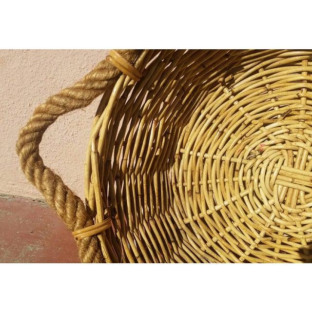 Large French Market Basket - Image 3 of 5