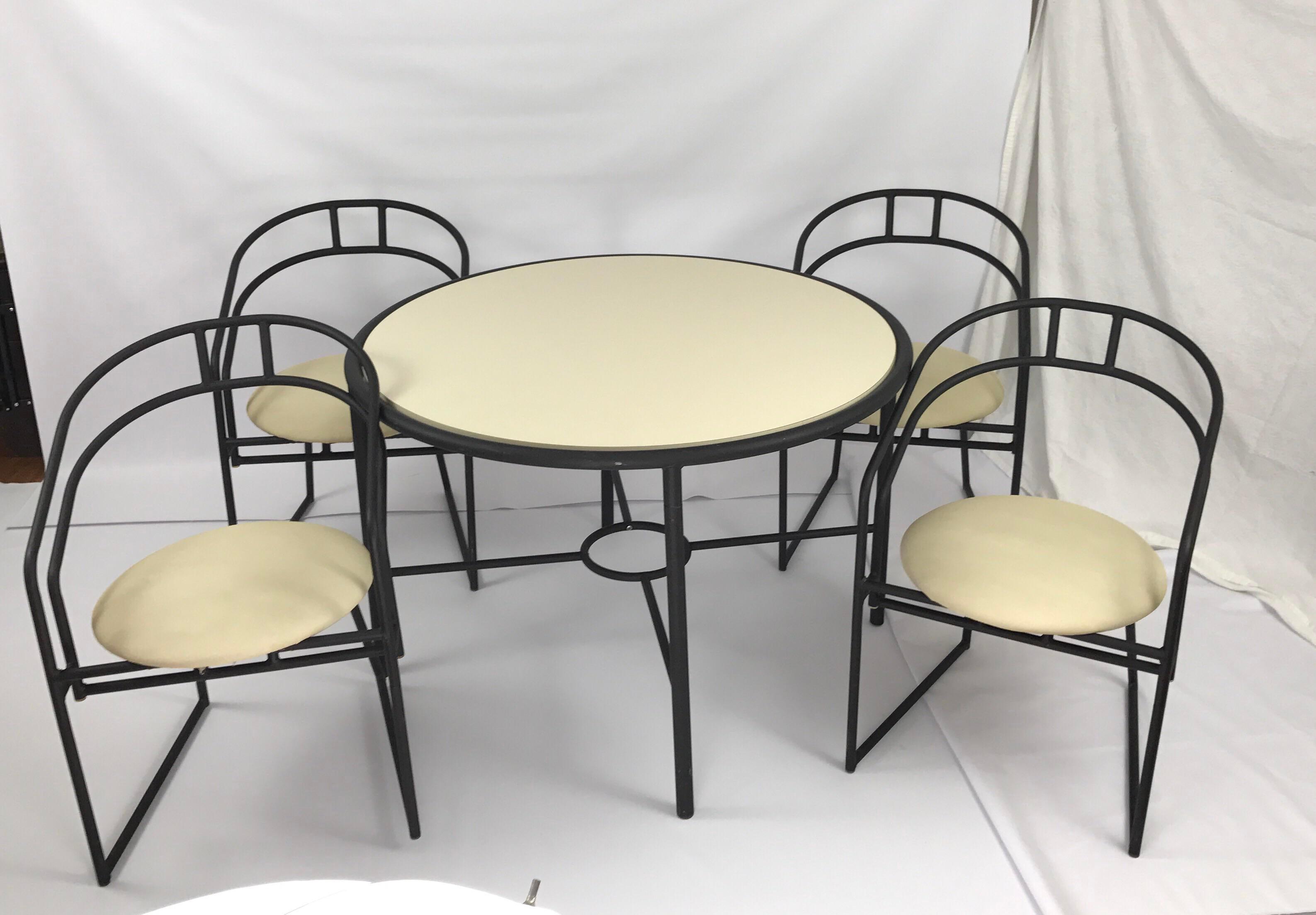 Vintage Cal Style Furniture Dining Set   Image 4 Of 11