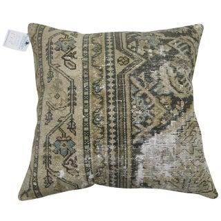 Distressed Persian Rug Pillow