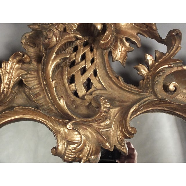 Italian Rococo Gilt Resin Wall Mirrors - A Pair - Image 4 of 7
