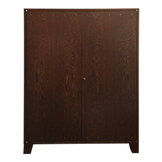 JMF Style Two-Door Wenge wood Cabinet