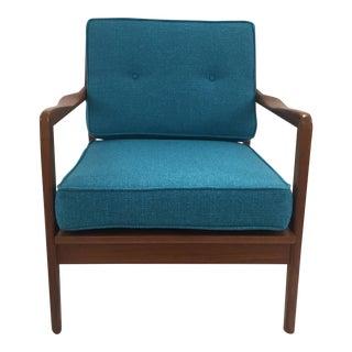 Mid-Century Restored Teak Arm Chair