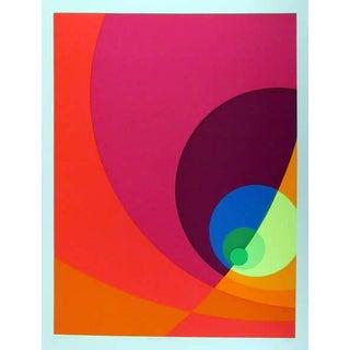 "1980 Herbert Aach ""Split Infinity #10bs"" Print"