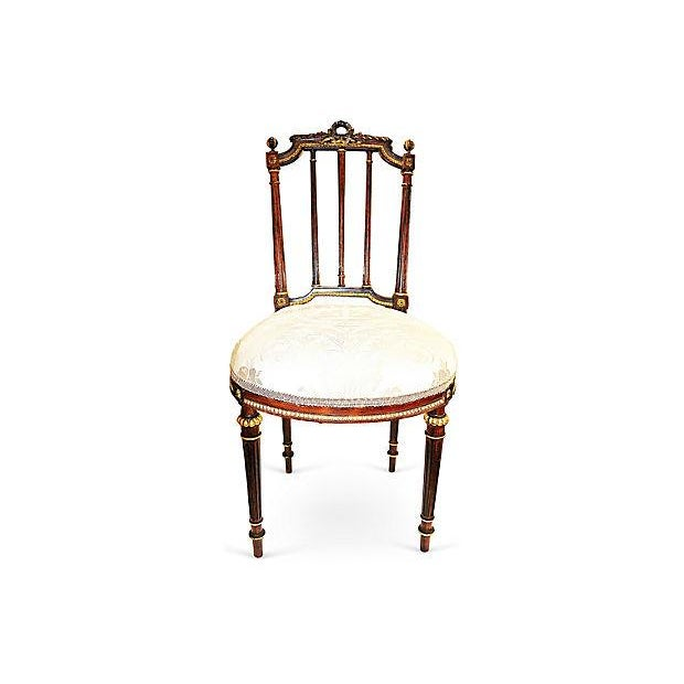 Image of French Rosewood Vanity Chair