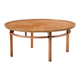Mid Century Circular Coffee Table