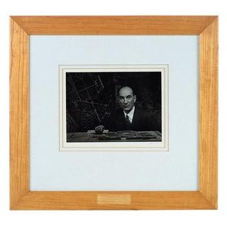 Photograph of Architect Eldridge Spencer by Ansel Adams