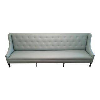 Faux Leather Dining Banquette Bench