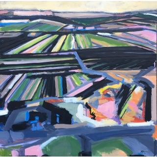 Field #6 Acrylic Painting