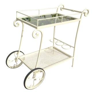 Wrought Iron Tea Cart