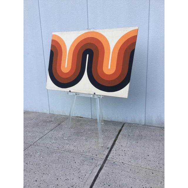 1970's Modern Lucite Easel - Image 10 of 10