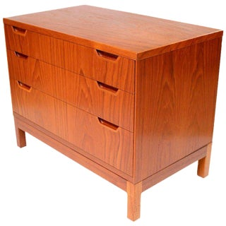 1960s Svend Langkilde Teak Chest of Drawers