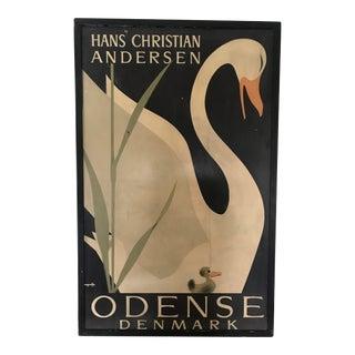 Original 'Swan' Poster Hans Christian Andersen